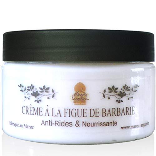 Crème Sublimante à l'Huile de Figue de Barbarie - Anti-âge et hydratant naturel – Peaux sensibles - 100ml Maroc Argan