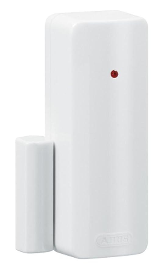 Abus Secvest - Detector de apertura de puertas inalámbrico, color blanco