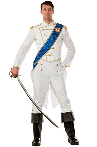 [Forum Men's Happily Ever After Prince Costume, Multi/Color, One Size] (Storybook Prince Adult Mens Costumes)