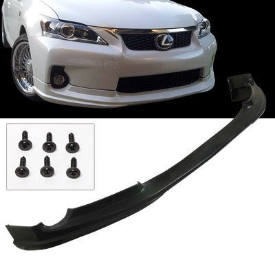 11-13 Lexus CT200H T.O.M. PU Front Body Bumper Lip Spoiler Kit