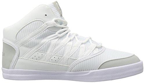 Nautica Heren Volle Laag Witte Mode Sneaker Wit