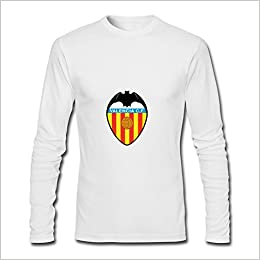 Amazon.com: Mens Valencia FC Long Sleeve T-shirt ...