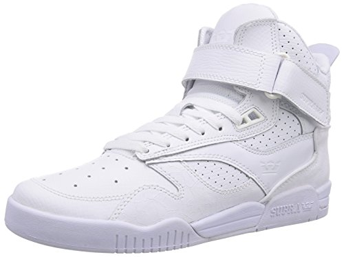 Supra Bleeker, Unisex Adults' Low-Top Sneakers White (White - White Wht)