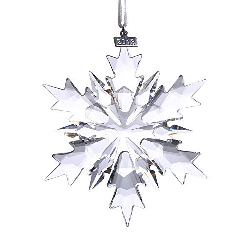XIANGBAN 2019 Snow and Ice Elf Pendant, Crystal Christmas Ornaments (Clear)