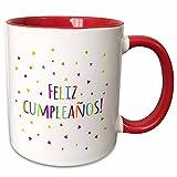Awesome Coffee Mug Feliz Cumpleanos Happ