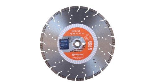 - Husqvarna 542751360 Vari-Cut General Purpose Abrasive Material Diamond Blade, 16-Inch X .140-Inch X 1-Inch