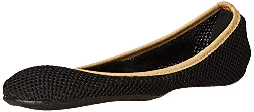 Sidekicks Foldable Ballet Flats with Carrying Case, Small, (Flat Mesh Clutch)