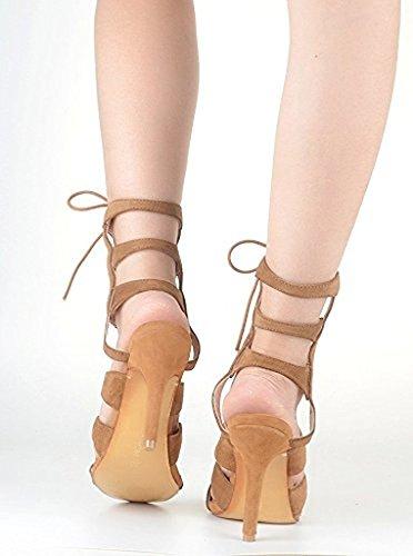 Kolnoo - botas clásicas Mujer marrón