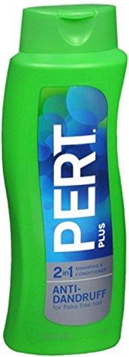 Pert Plus 2 in 1 Shampoo + Conditioner Dandruff Control 25.40 oz (Pack of (Pert Dandruff Control Shampoo)