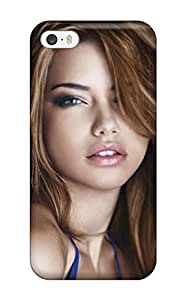 Faddish Phone Celebrity Adriana Lima Case For Iphone 5/5s / Perfect YY-ONE