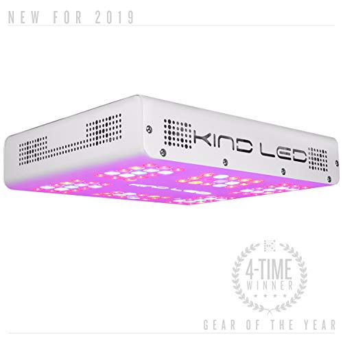 Kind LED K3 Series 2 XL300 LED Grow Light for Indoor Plants and Flowers - 210w with Full Spectrum and 3 Year Warranty (Best Led Grow Box)