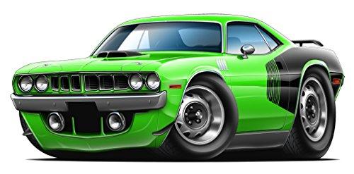 1971 Plymouth Cuda 426 Hemi Convertible Garage Graphics & Decor 22