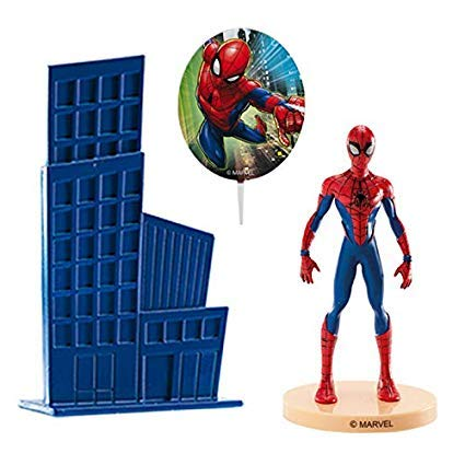 Spiderman Cake Topper Pack Figure by Dekora