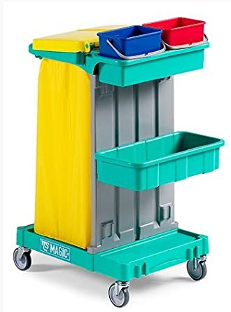 Carrito Limpieza profesional TTS Magic Line 020: Amazon.es: Industria, empresas y ciencia