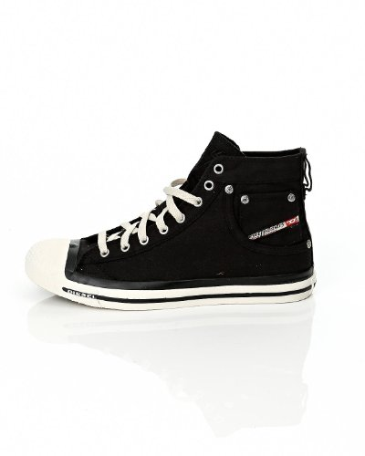 Diesel Men's 'Magnete Exposure' Sneakers EUR 45 Black