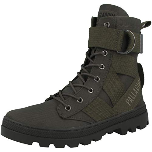 Mujer Tact Pallabosse Night Para 95946 Tx St olive Botas Palladium Vetiver 345 Slouch vq0wd5xnf