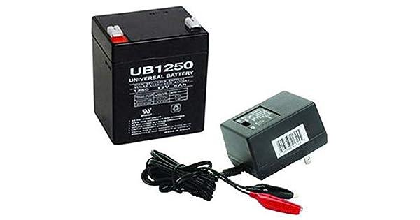 Amazon.com: 12 V 5 Ah Batería para Razor powerrider 360 ...