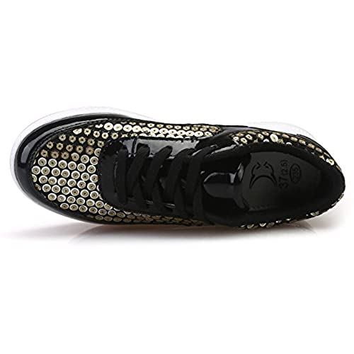 30%OFF Ausom Women's Sequined Shape Ups Swing Shoes Height