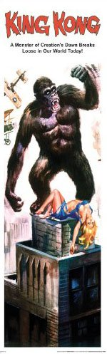 King Kong Classic Hollywood Monster Movie Film Poster Print ()
