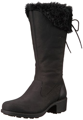 Merrell Mid Closed Tall Calf Chateau Boots Toe Fashion Black Womens rqFTrn7