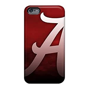 Iphonecase88 Apple Iphone 6 Shock-Absorbing Cell-phone Hard Covers Support Personal Customs Trendy Roll Tide Skin [ccj2486hBHW]