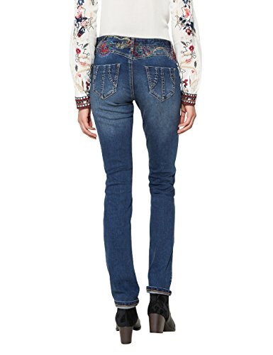 Slim Desigual Denim Femme 5008 Denim refriposas Blue Dark Jean Bleu qY4trwY