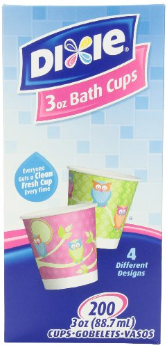 3 Ounce Dixie Cups - Dixie 3-Ounce Cups, Assorted Patterns, 200 Count Box (Pack of 4)