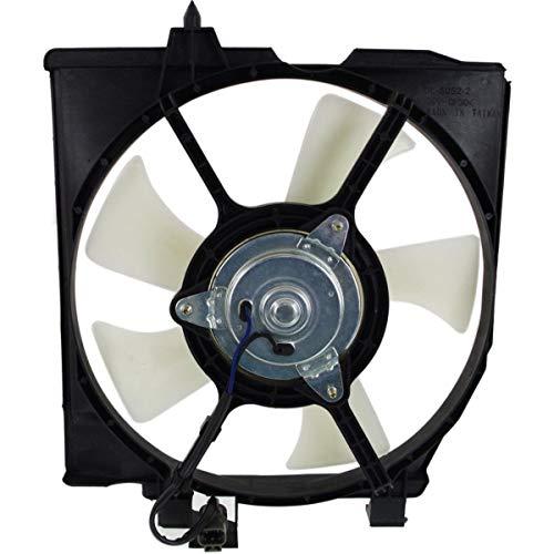 New Right A/C Condenser Fan Assembly For 2001-2003 Mazda Protege Non-Turbo MA3115138 FS2V15035F -