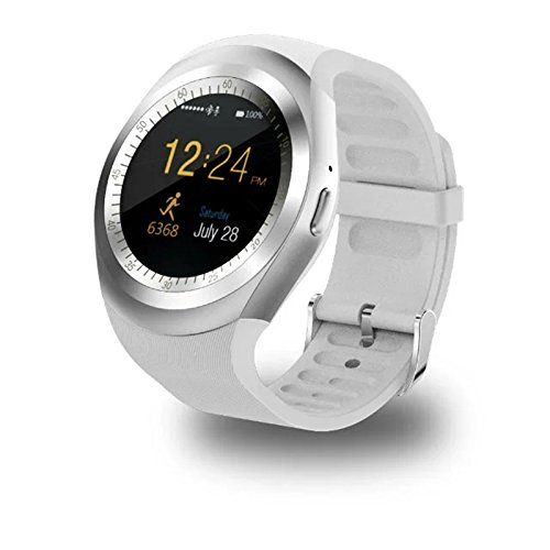 Ocamo Smart watch, Waterproof Bluetooth Smart Wrist Watch with SIM Card Multiple Strong Functions for