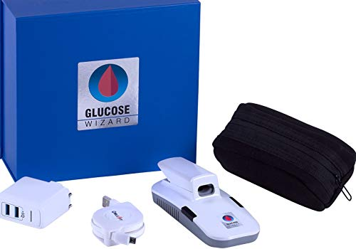 Glucose Wizard NO Blood NO Pain Bloodless Painless Glucose Monitor No Pricking Glucose Meter Glucose Test