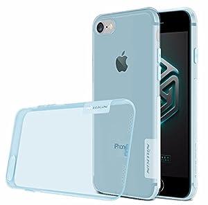NILLKIN Transparent Nature series Case For Apple iPhone 7 / iPhone 7 plus (Blue - iPhone 7 Plus)