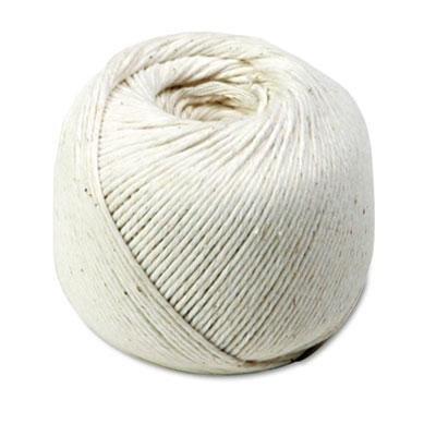 Quality Park 46171 White Cotton 10-Ply (Medium) String in Ball, 475 Feet