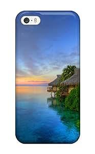 2848950K95354616 New Tpu Hard Case Premium Iphone 5/5s Skin Case Cover(island Sunset)