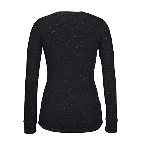 NHL Boston Bruins Women's Lace Up Henley Shirt, Medium
