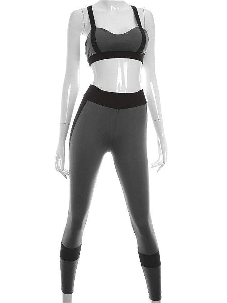 XXSPU Yogakleidung Trainingskleidung Damen Sportbekleidung Fitnessbekleidung Sportbekleidung Laufbekleidung Sportbekleidung für Outdoor-Bekleidung