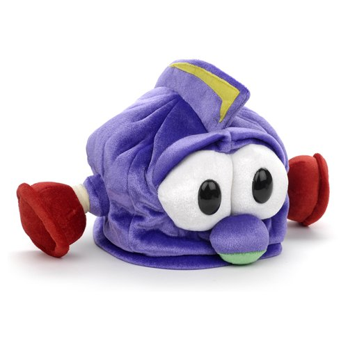 Larry Boy Costume (Veggie Tales Larry Boy Plush Beanie Hat)