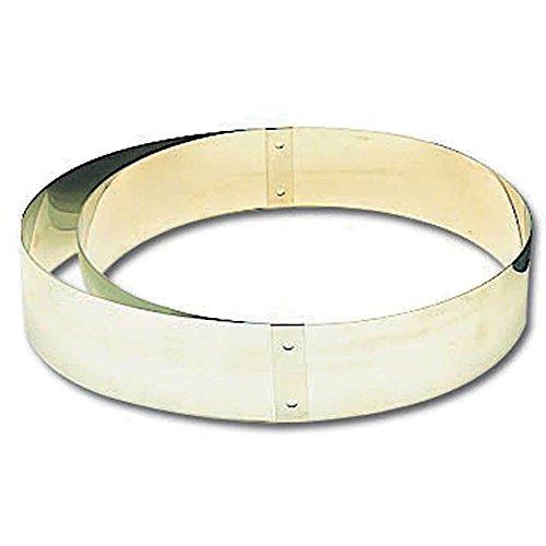 Matfer Bourgeat 371420 Adjustable Tart Ring, Silver by Matfer Bourgeat