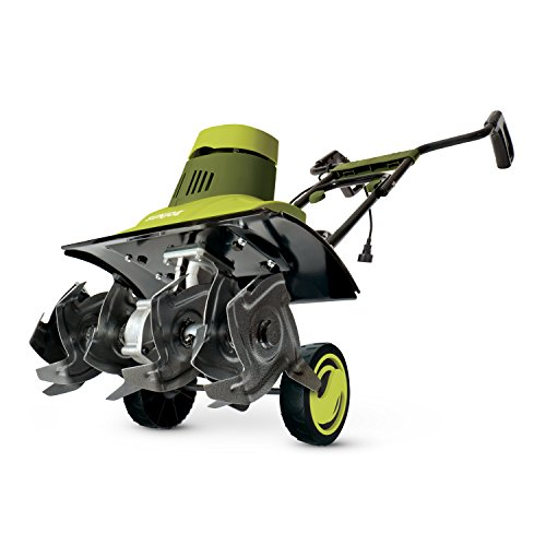 Sun Joe TJ601E Tiller Joe 9-Amp Electric Garden (Best Earthwise Electric Tiller Cultivator)