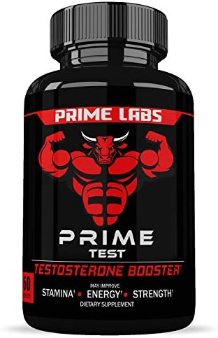 Testosterone Booster with Estrogen Blocker – 1st Fully Dosed Test Booster for Muscle Growth Sexual Performance – Includes Tribulus Terrestris Korean Red Ginseng for Added Stamina Endurance