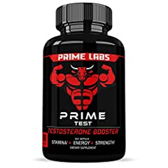 Recapture your youthful strength, endurance and stamina by replacing lost or low testosterone with Prime Labs Prime Test!  By the time men hit 30 years old, their natural testosterone levels are in decline. And while you may not notice it ins...