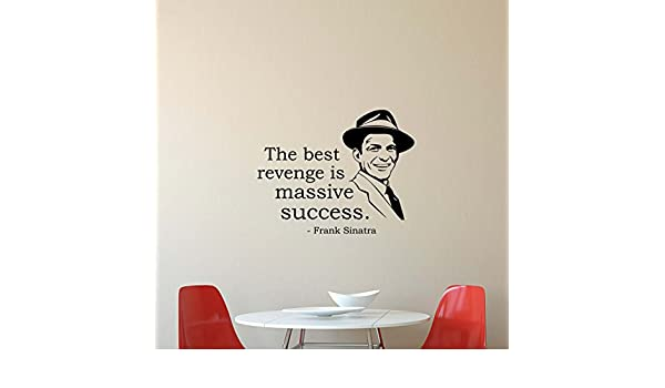 Wall Quote I Lived in a Plenty Tough Neighberhood FRANK SINATRA