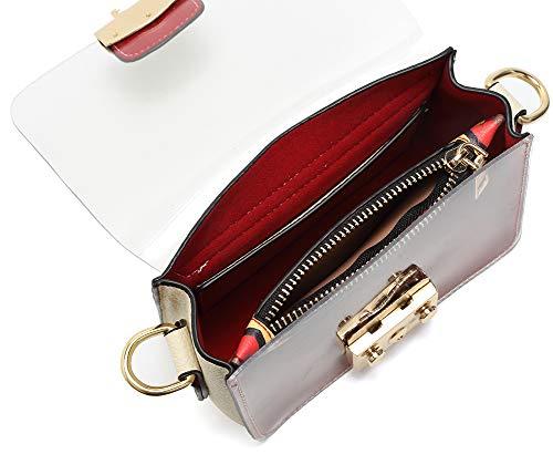 Bag Crossbody Women Shoulder Adjustable Strap Messenger Bags Clear Black for qapXHS