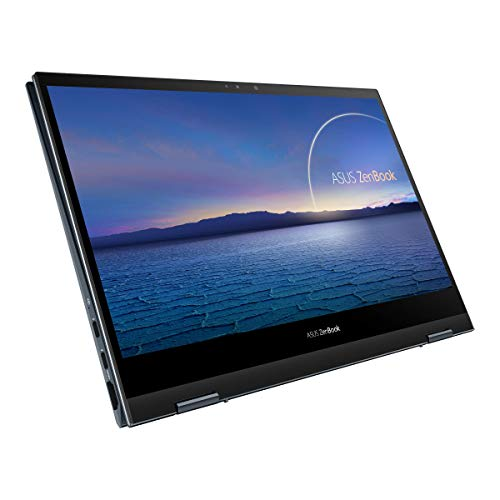 ASUS ZenBook Flip 13 OLED, Intel Core i5-1135G7 11th Gen, 13.3″ FHD Touch 2-in-1 Laptop (8GB/512GB SSD + 32GB Optane Memory/Windows 10/Office 2019/Iris Xᵉ Graphics/Pine Grey/1.3 kg), UX363EA-HP501TS