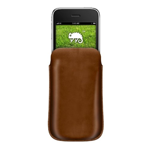 Katinkas 506 Etui en cuir pour iPhone 3G Café