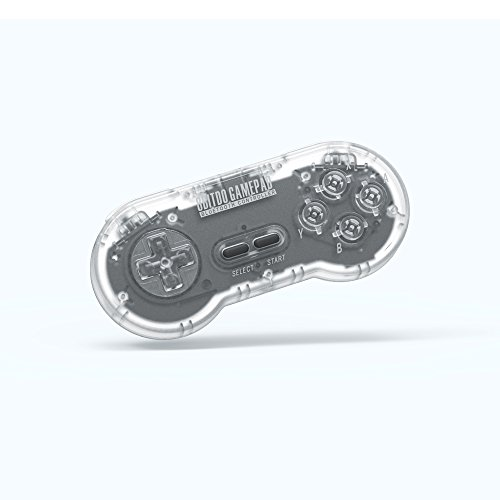 8Bitdo SN30 Retro Set (Transparent Edition) - Super NES