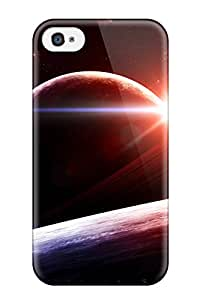 New Style James Escobar Hard Case Cover For Iphone 4/4s- Sunrise Spaces