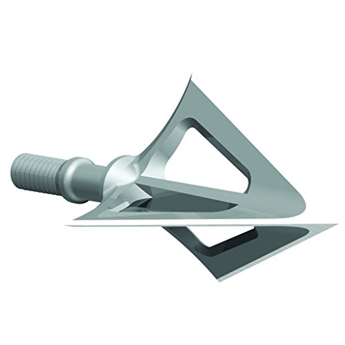 G5 Outdoors Montec 100 Grain All-Steel Premium Broadheads. Simple to Use, High Performance Broadhead. (3 Pack) (Made in the USA) - 100 Grain