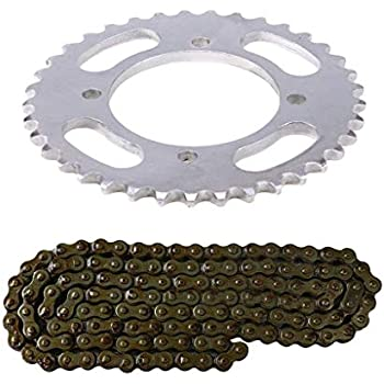 WPHMOTO 76mm 41 Teeth 420 Chain Sprocket for Pit Dirt Bike 110cc 125cc 140cc