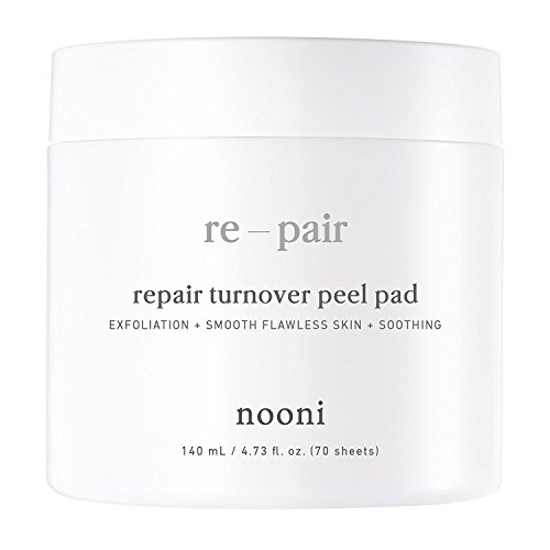 Nooni Advanced Repair Therapy Radiance Peel Pads 70Pcs Acne Control  Blackhead Removal  Skin Exfoliation