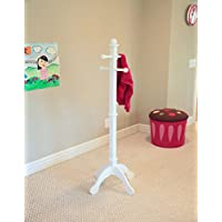 Frenchi Home Furnishing CR05WH Kids Coat Rack